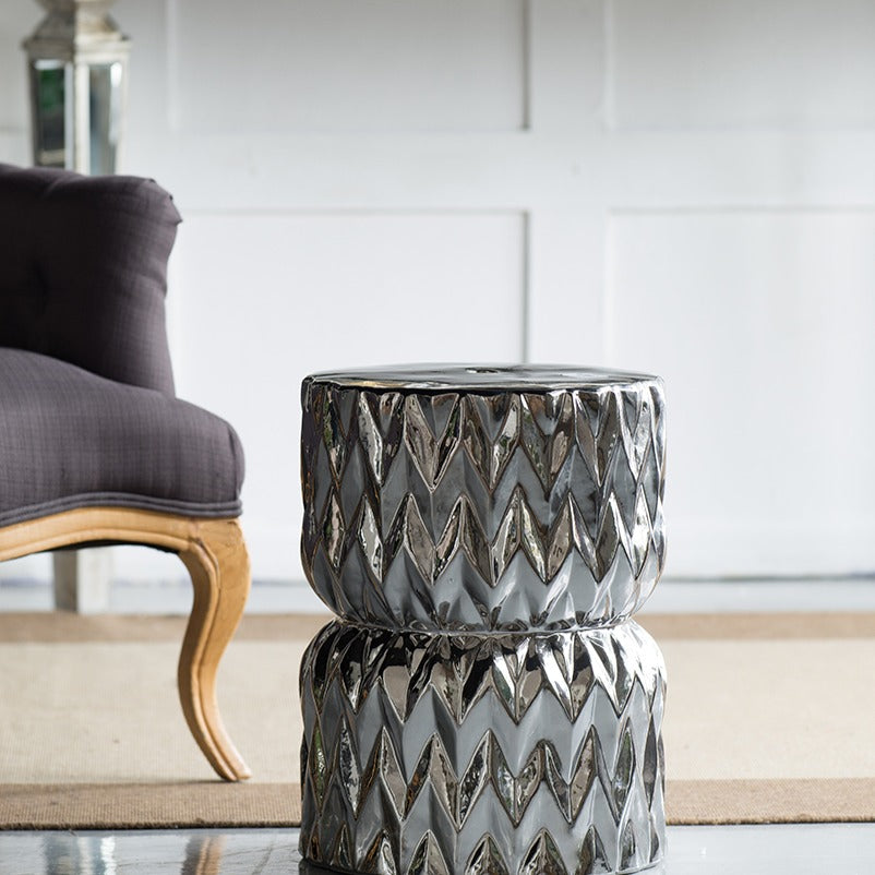Crystal Ceramic Side Table - The Home Accessories Company 1