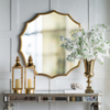 Minyama Scalloped Mirror - The Home Accessories Company 4