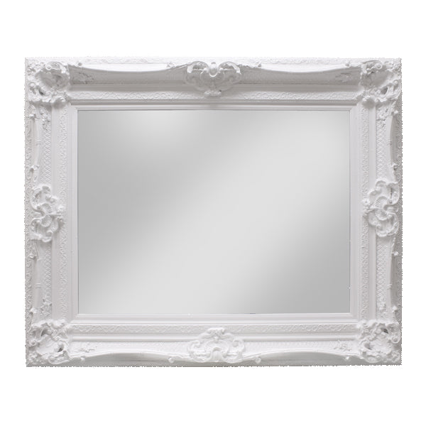 Raphael White Mirror - The Home Accessories Company