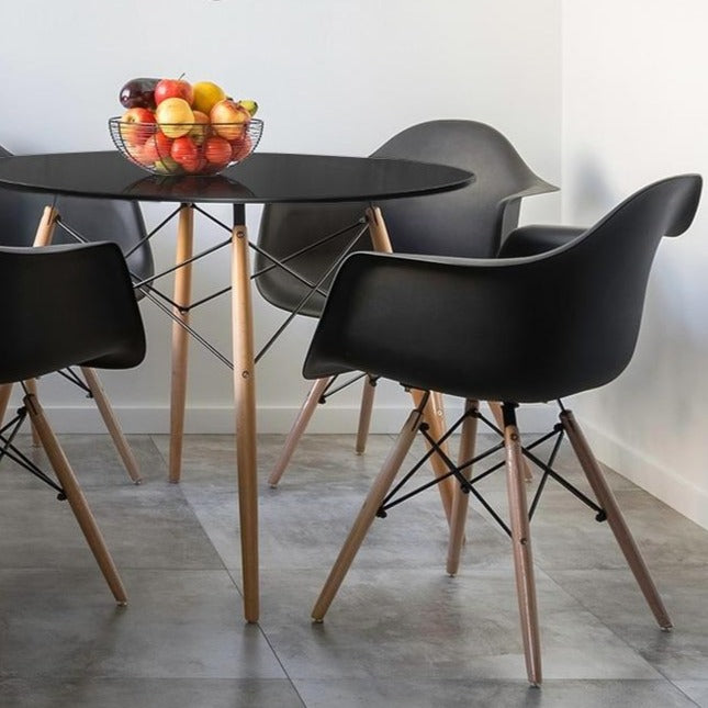 Round Replica Eames DSW Dining Table - The Home Accessories Company 1