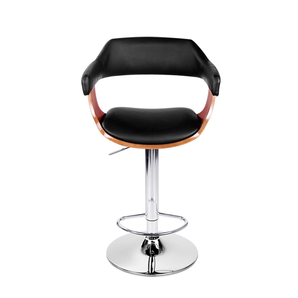 Wooden Nikki Bar Stool - Black - The Home Accessories Company 1