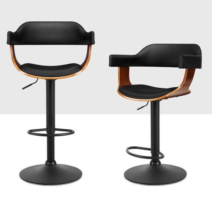 Swivel Gas Lift Bar Stool - Black - The Home Accessories Company 2