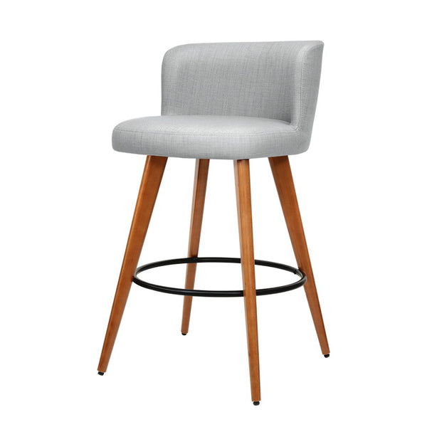 2 x Connor Wooden Bar Stools - The Home Accessories Company
