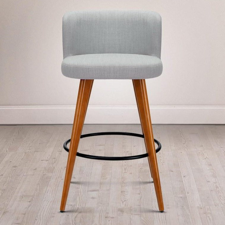 2 x Connor Wooden Bar Stools - The Home Accessories Company 3