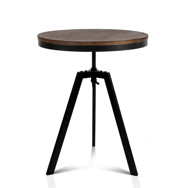 Elm Wood Round Dining Table - The Home Accessories Company