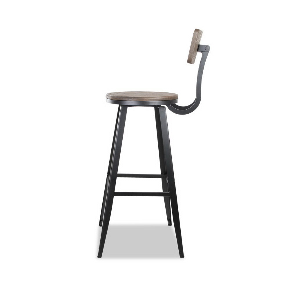 Industrial Swivel Kitchen Stool - The Home Accessories Company 1