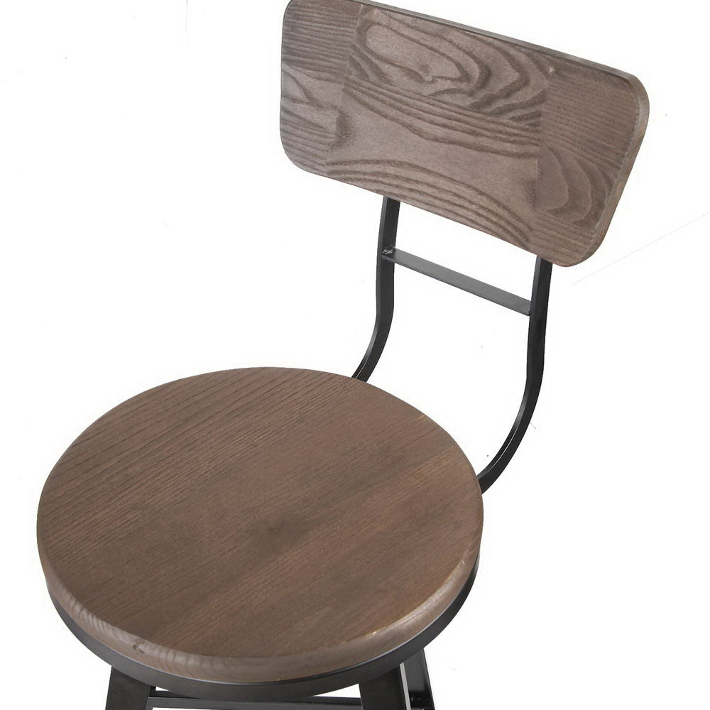 Industrial Swivel Kitchen Stool - The Home Accessories Company 4