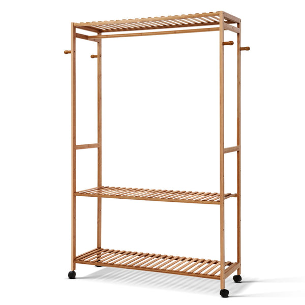 Bamboo Clothes Rack - The Home Accessories Company