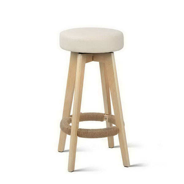 2 x Dora Kitchen Swivel Bar Stools - The Home Accessories Company