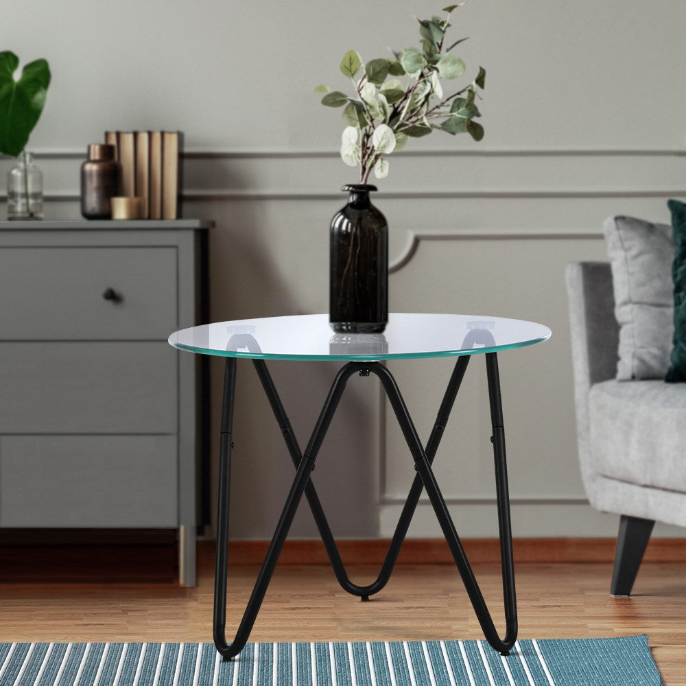 Glass Top Coffee Table - The Home Accessories Company 2