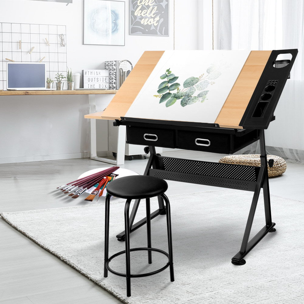 Tilt Drafting Table and Stool Set - The Home Accessories Company 3