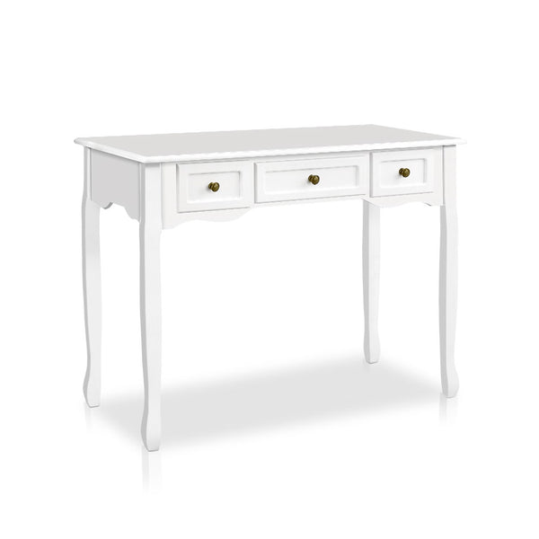 French Drawer Hall Console Table - White - The Home Accessories Company