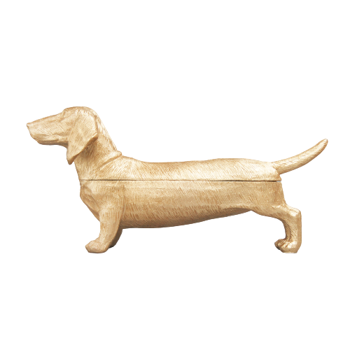 Daschund Gold - The home Accessories Company