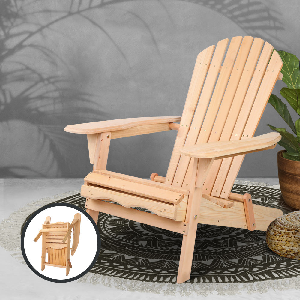 Outdoor Wooden Patio Chair -The Home Accessories Company 4