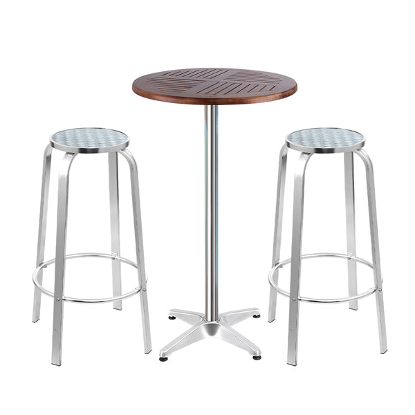 Outdoor Bistro Bar Table & Stools - The Home Accessories Company