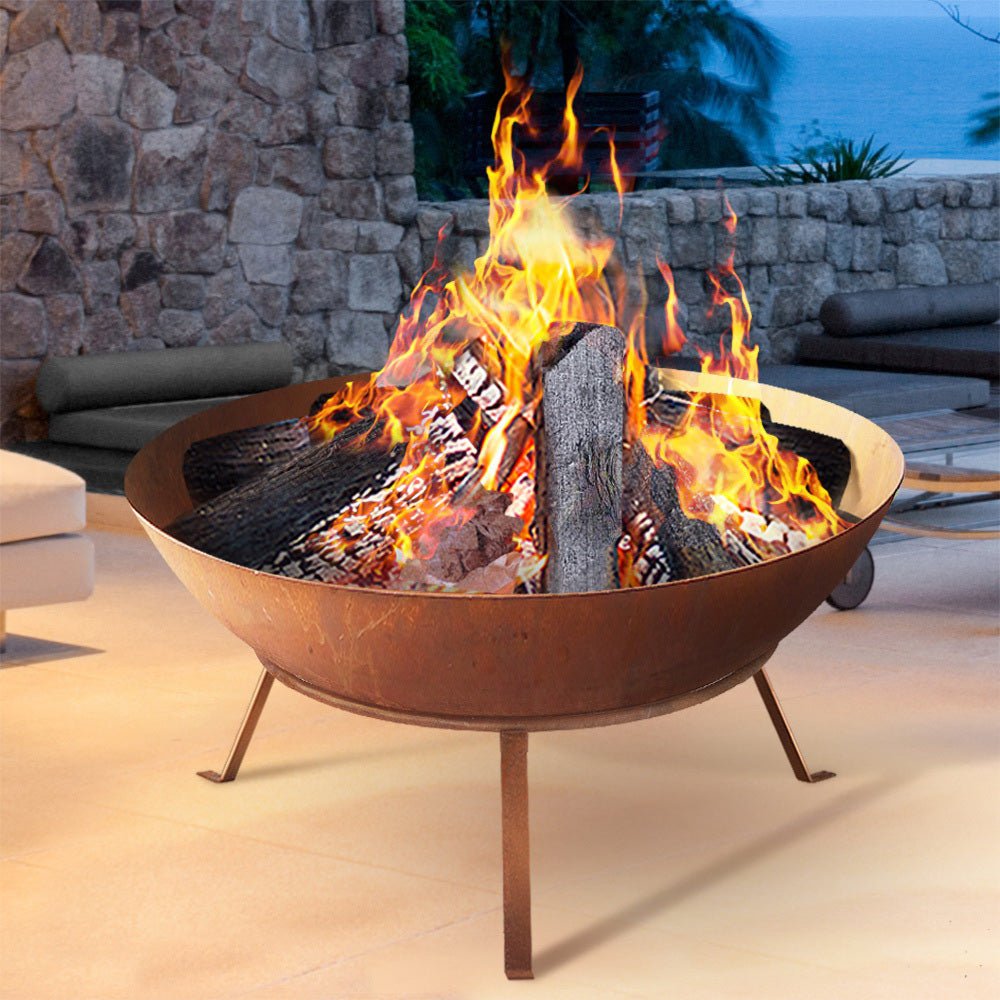 Rustic Outdoor Fire Pit - The Home Accessories Company 2