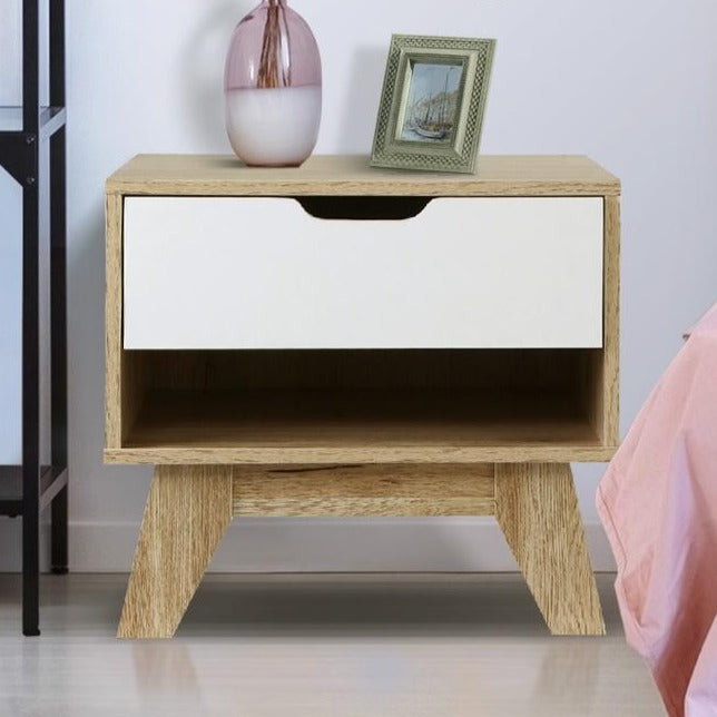 Retro Drawer Bedside Table - The Home Accessories Company 1