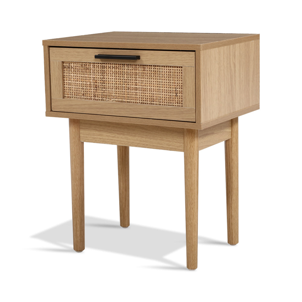 Rattan Bedside Table - The Home Accessories Company 1