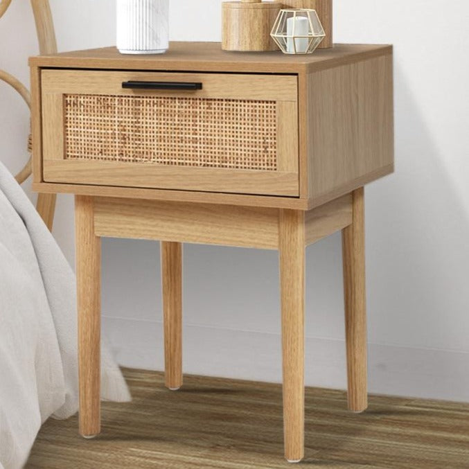 Rattan Bedside Table - The Home Accessories Company 2
