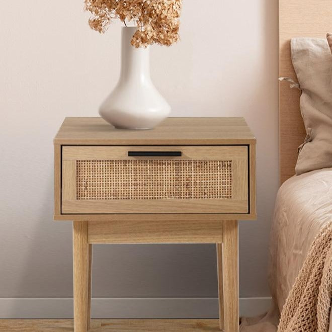 Rattan Bedside Table - The Home Accessories Company 3