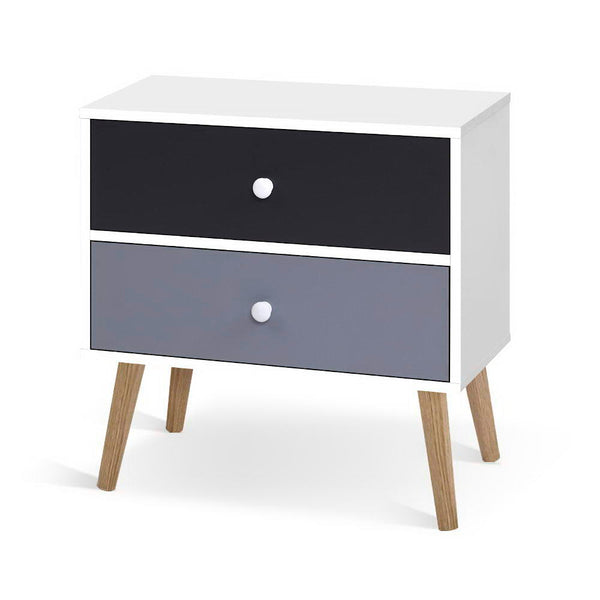 Block Colour Bedside Tables - The Home Accessories Company