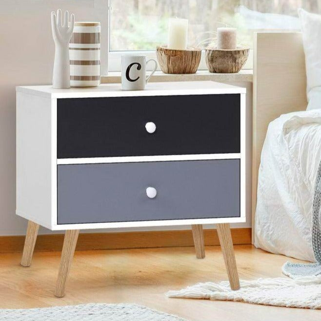 Block Colour Bedside Tables - The Home Accessories Company 2