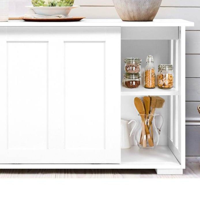 Buffet Sideboard Cabinet - White - The Home Accessories Company 1
