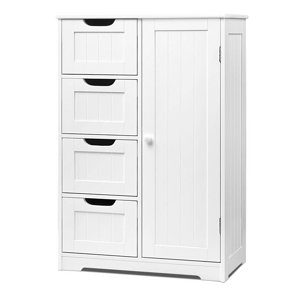 Bathroom Storage Cabinet - White - The Home Accessories Company