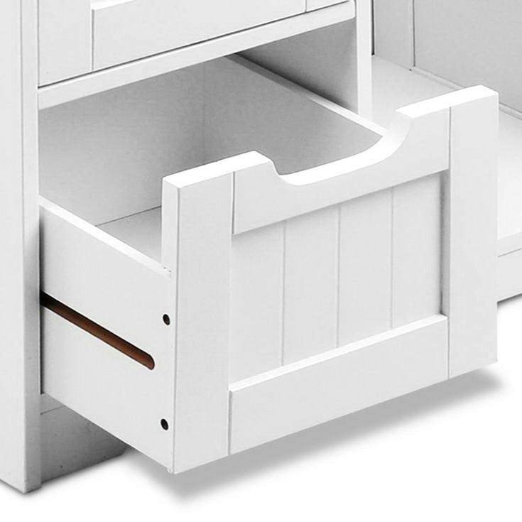 Bathroom Storage Cabinet - White - The Home Accessories Company 2