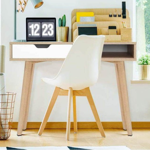 2 Drawer Wooden Computer Desk - The Home Accessories Company 1