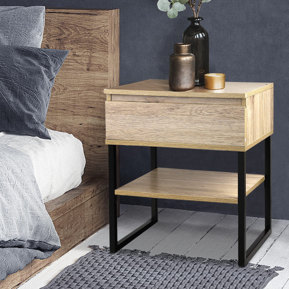 Natural Style Bedside Table - The Home Accessories Company 2