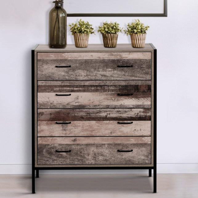 Industrial Style Chest of Drawers - The Home Accessories Company 1