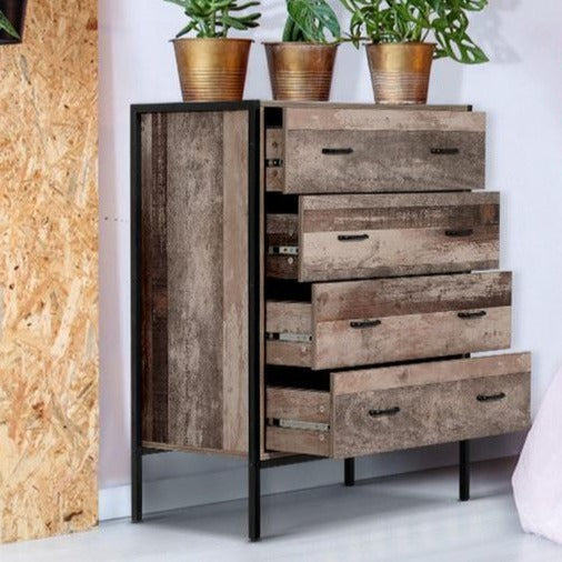 Industrial Style Chest of Drawers - The Home Accessories Company 2