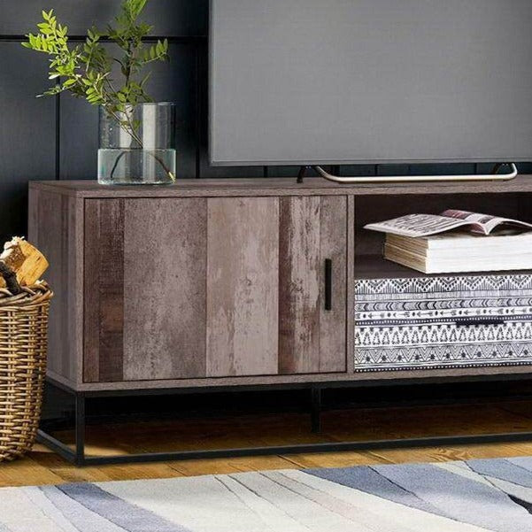 Rustic Entertainment Unit - The Home Accessories Company 2