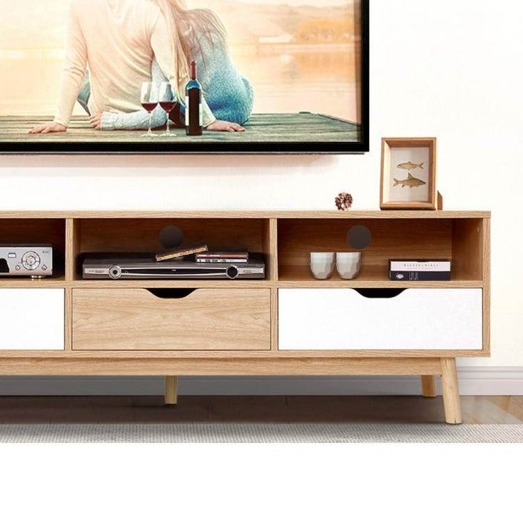 Contemporary TV Cabinet Entertainment Unit - The Home Accessories Company 1