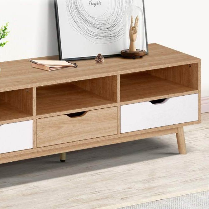 Contemporary TV Cabinet Entertainment Unit - The Home Accessories Company 2