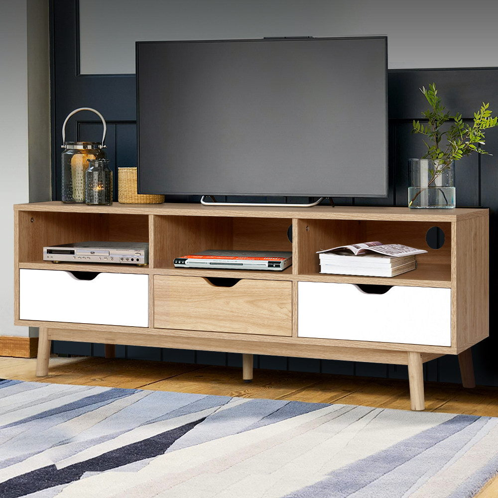 Contemporary TV Cabinet Entertainment Unit - The Home Accessories Company 3