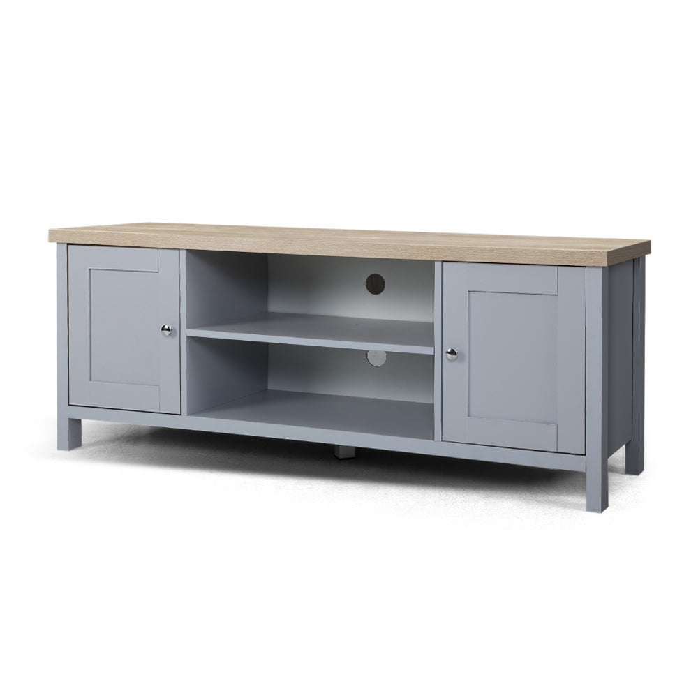 Provincial Style Entertainment Unit - Grey - The Home Accessories Company