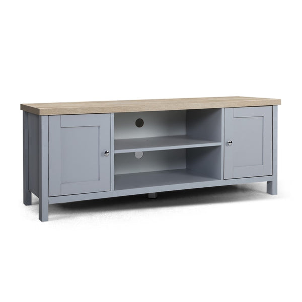 Provincial Style Entertainment Unit - Grey - The Home Accessories Company 1