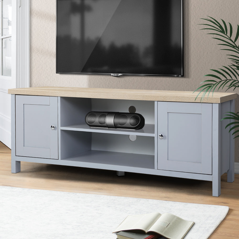 Provincial Style Entertainment Unit - Grey - The Home Accessories Company 2