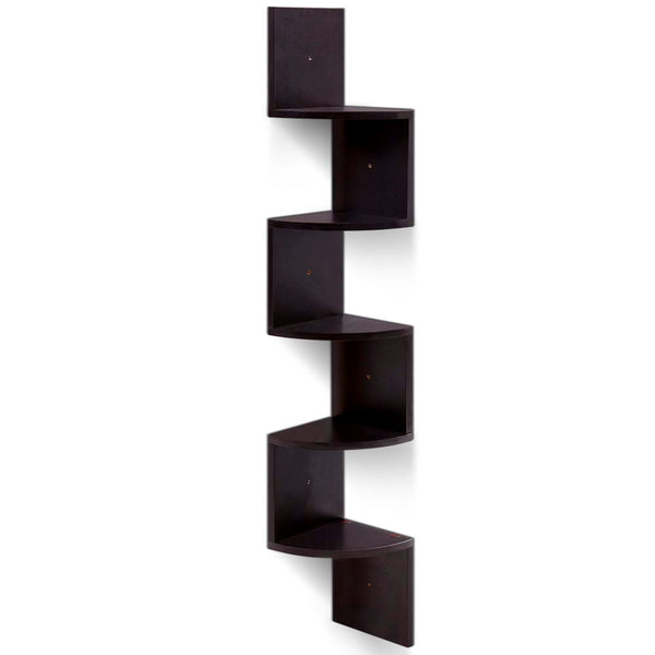 5 Tier Corner Floating Shelf - The Home Accessories Company
