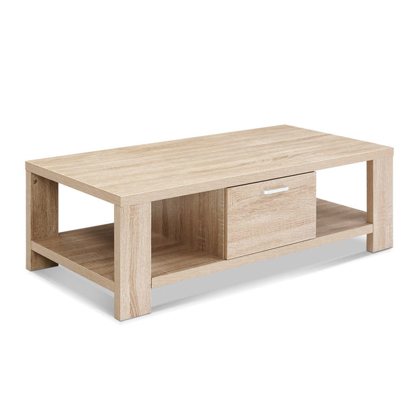 Wooden Shelf Coffee Table - The Home Accessories Company