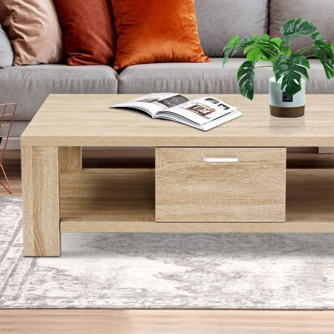 Wooden Shelf Coffee Table - The Home Accessories Company 2