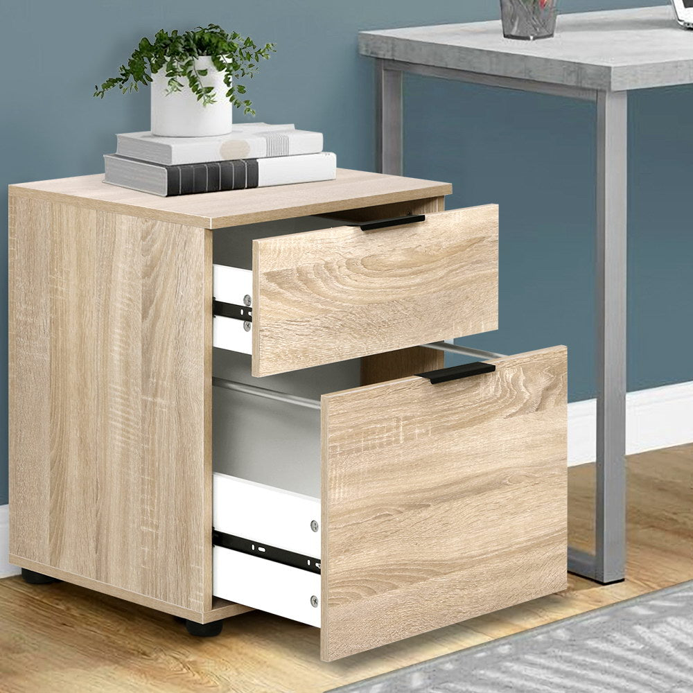 2 Drawer Filing Cabinet - The Home Accessories Company 2