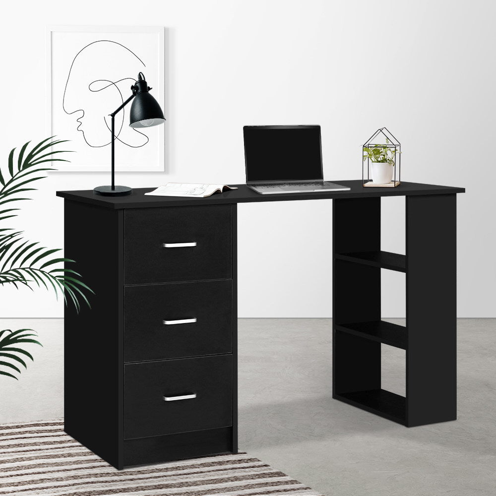 Office Computer Desk - Black - The Home Accessories Company 3