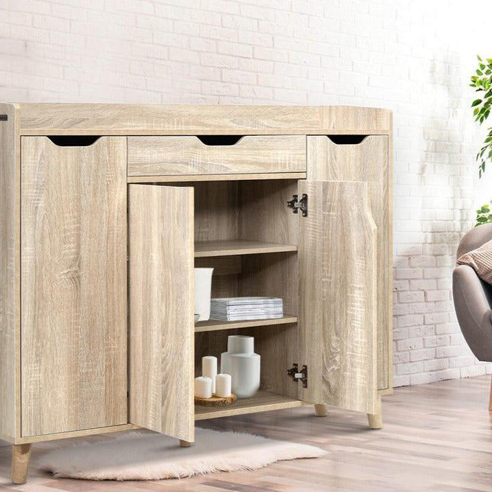 Wooden Shoe Storage Cabinet - The Home Accessories Company 2