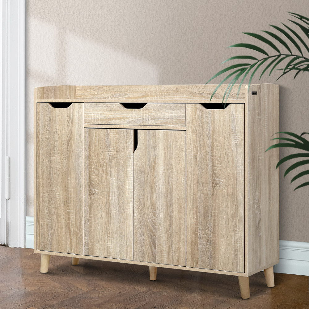 Wooden Shoe Storage Cabinet - The Home Accessories Company 3