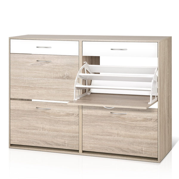 Tiered Shoe Cabinet - The Home Accessories Company