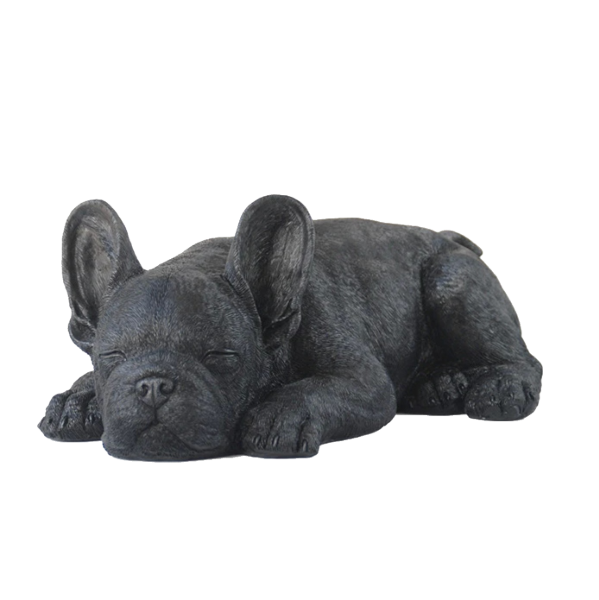 Frenchie Sleeping - Black - The Home Accessories Company