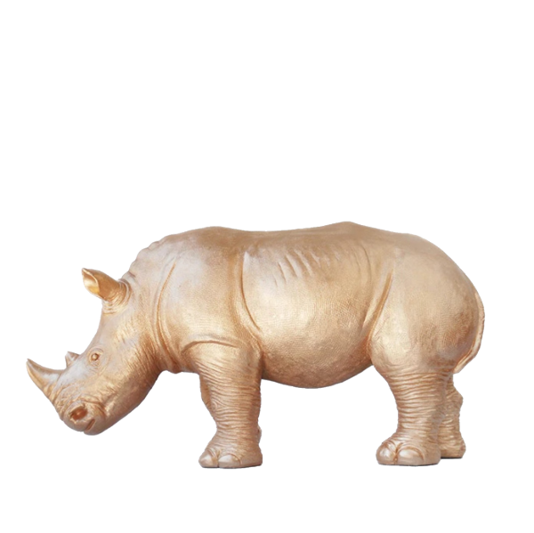 Giant Rhino - Gold - The Home Accessories Company 3